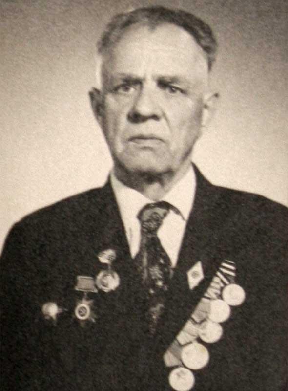 Михайленко А.Т. - рядовой 35 осбр