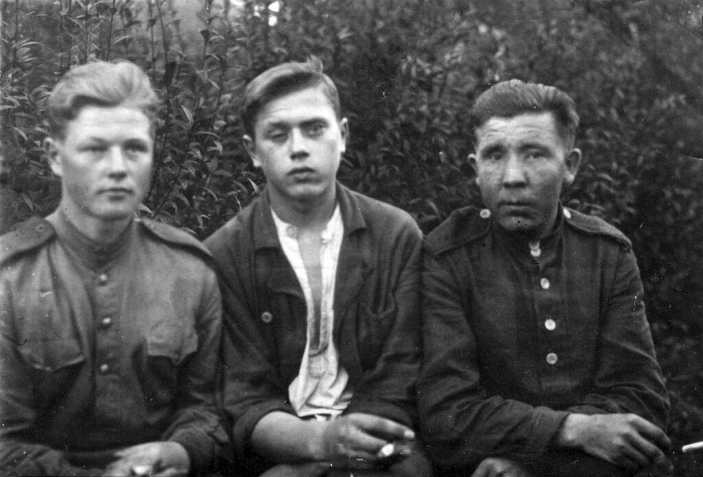 Лобачев В.Ф. - город Глейбиц, 1945г