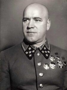 Жуков Г.К. - командующий Западным фронтом