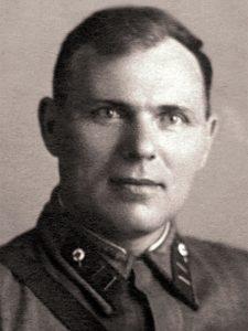 Батальонный комиссар Г.И. Лихоманов