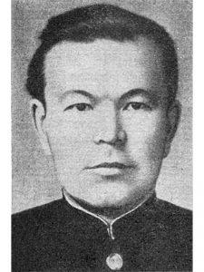 Бородин Николай Александрович - командир артиллерийской батареи 71 осбр