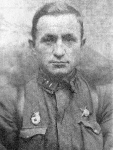 Губанков А.П. - начальник штаба 29 осбр, батальонный комиссар