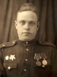 Меркулов Виктор Васильевич - боец 84 осбр