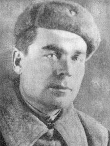 П.Ф. Ельцов, командир расчёта 82мм миномёта 50 осбр