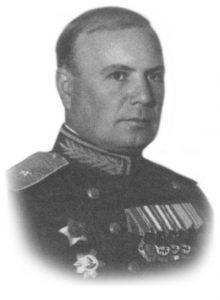 Генерал-майор Прокофьев Юрий Михайлович