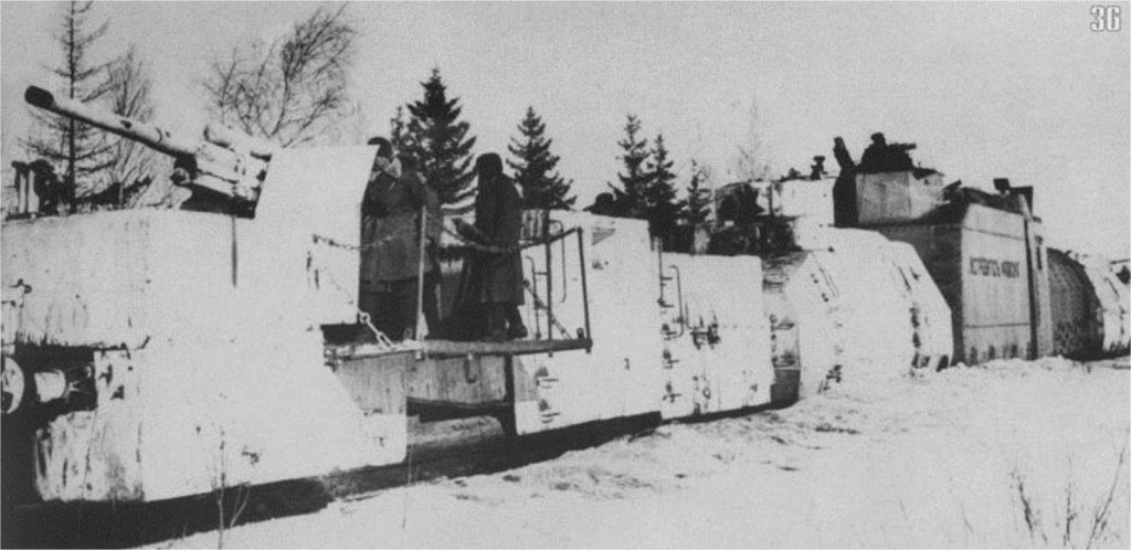 """БЕПО № 1 """"Истребитель фашизма"""" 6-го ОДБП на огневой позиции. Февраль 1942 года"""