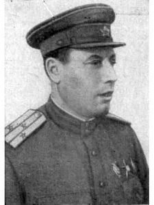Георгий Яковлевич Севастьянов - комиссар 64 осмбр