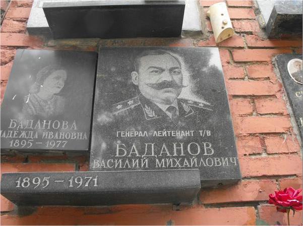Новодевичье кладбище, Москва.