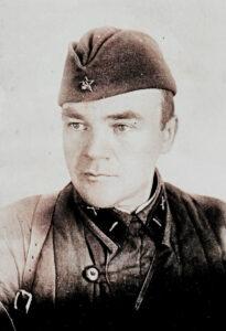 М.П. Елсуков (Ленинградский фронт, 01.05.1942г.)
