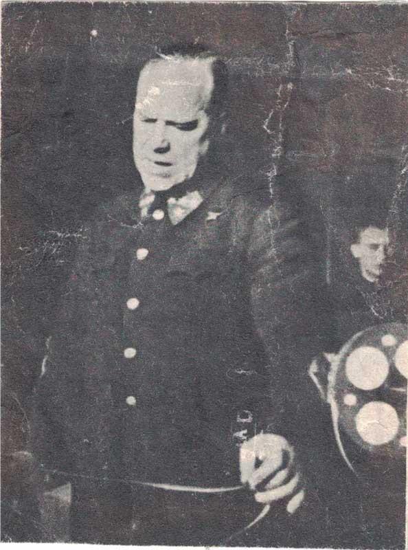 Командующий Западным фронтом Г.К. Жуков