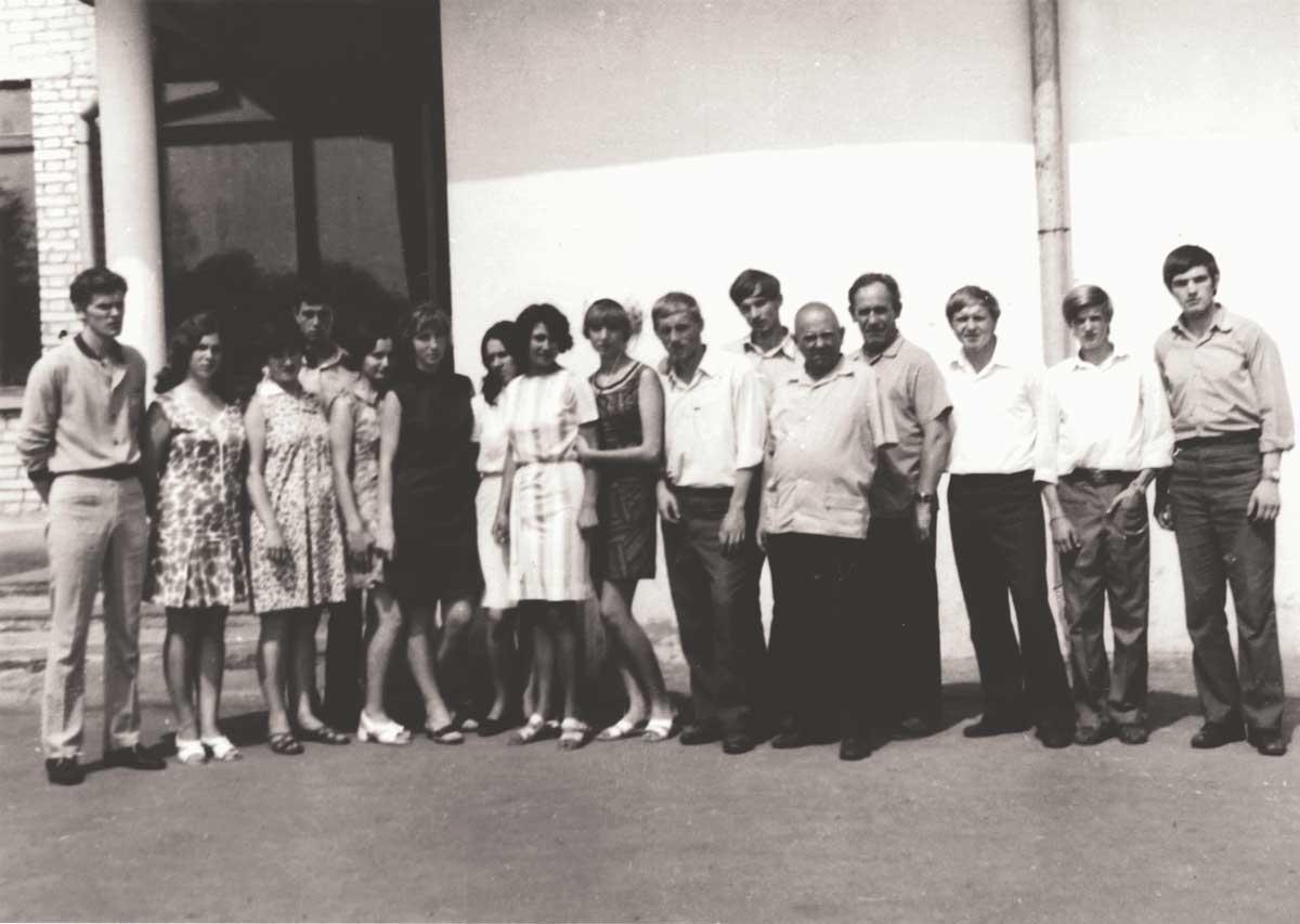 Боков М.А. с учениками Федоскинской художественной школы