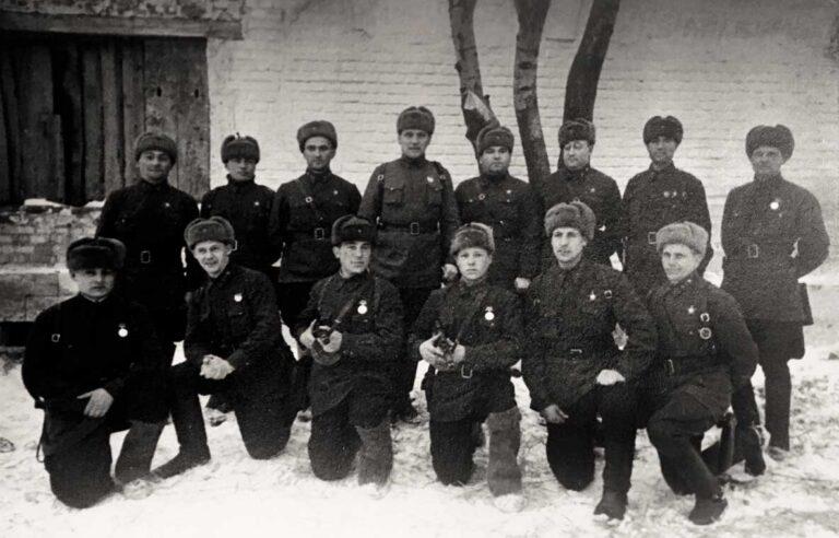 Гвардейцы армии генерала Белова