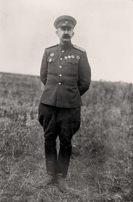 Павел Алексеевич Белов. 1944