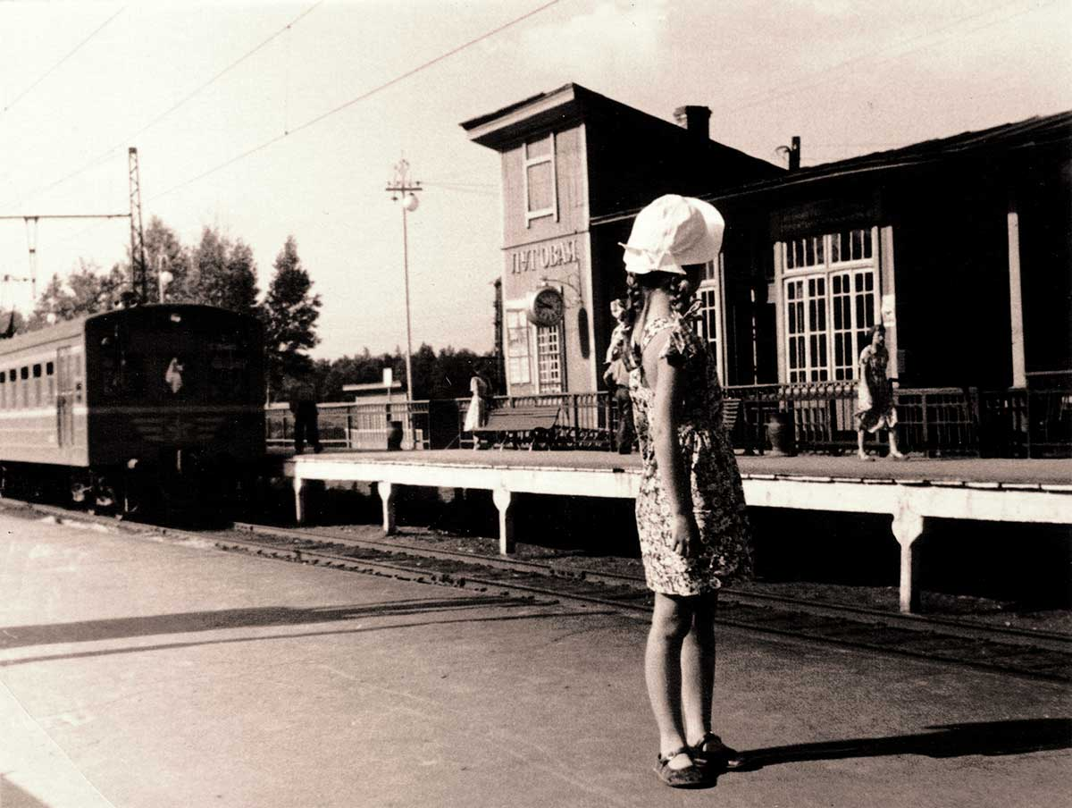 Станция Луговая, 1958 год