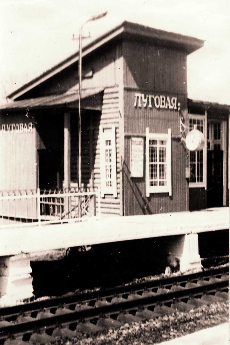 Станция-Луговая. 1960-70