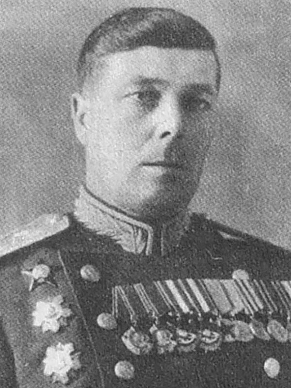 начальник тыла генерал-майор Д. И. Андреев