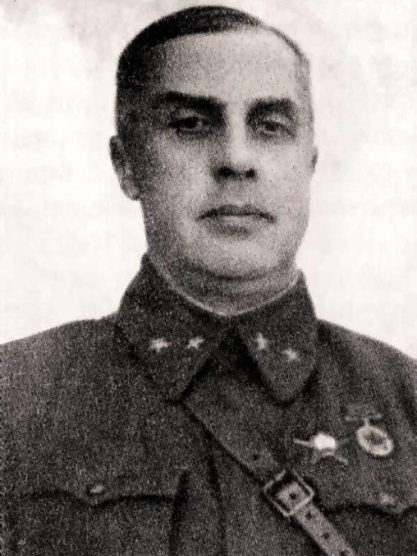 Начальник оперативного отдела штаба 20 армии Б.С. Антропов