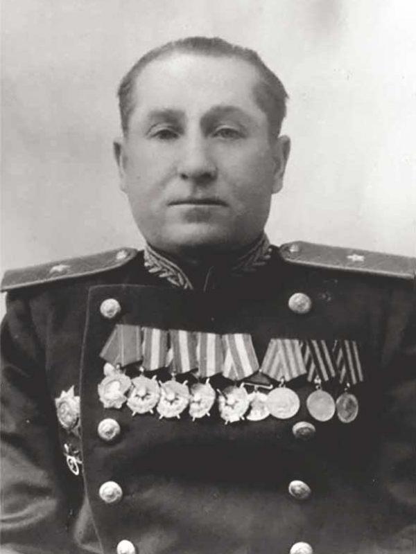 Ерохин Михаил Емельянович - командир 29 осбр с __.12.41