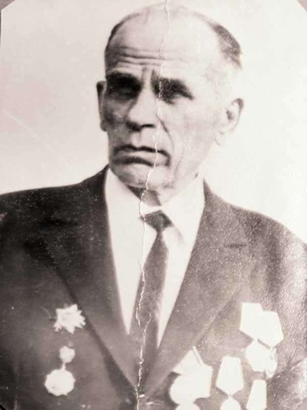 Казаков Фёдор Максимович, 1902-1985, майор,Панфилова, 5
