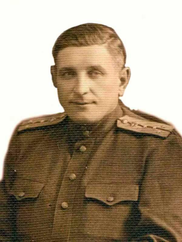 Копачков Никанор Тихонович -майор