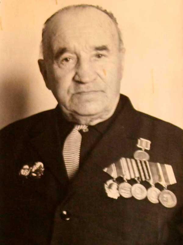 Котов Сергей Александрович, 1897-1985, рядовой, ВНИИ д.13 кв.12