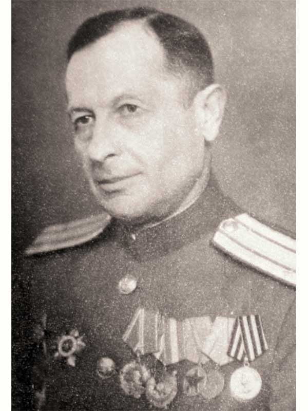Красовский Владимир Мартынович, 1896-1970, подполковник