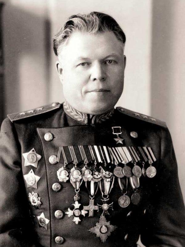 Малинин М.С. - начальник штаба 16 Армии