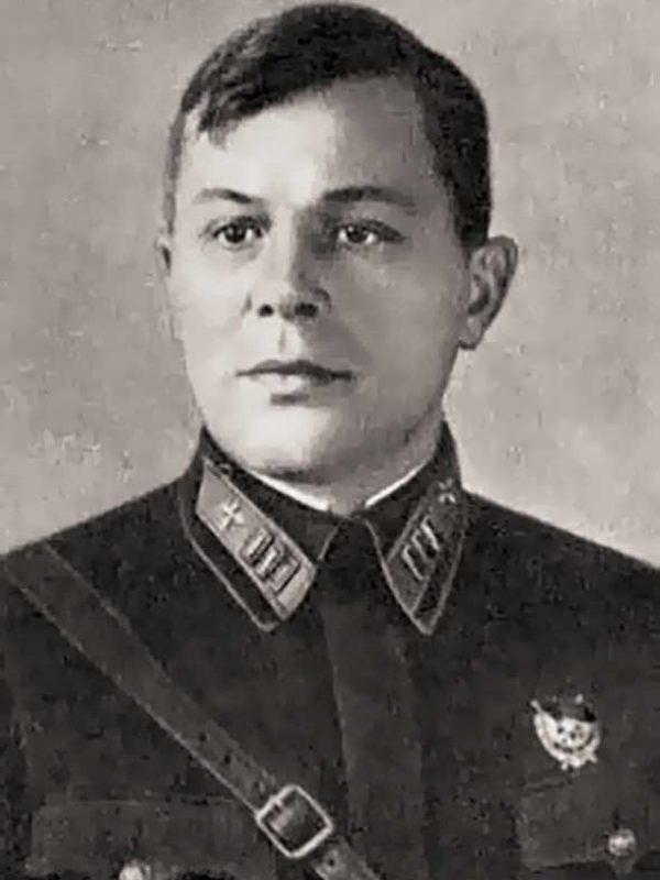 Начальник авто-бронетанкового отдела 20 армии - подполковник М.И. Малышев
