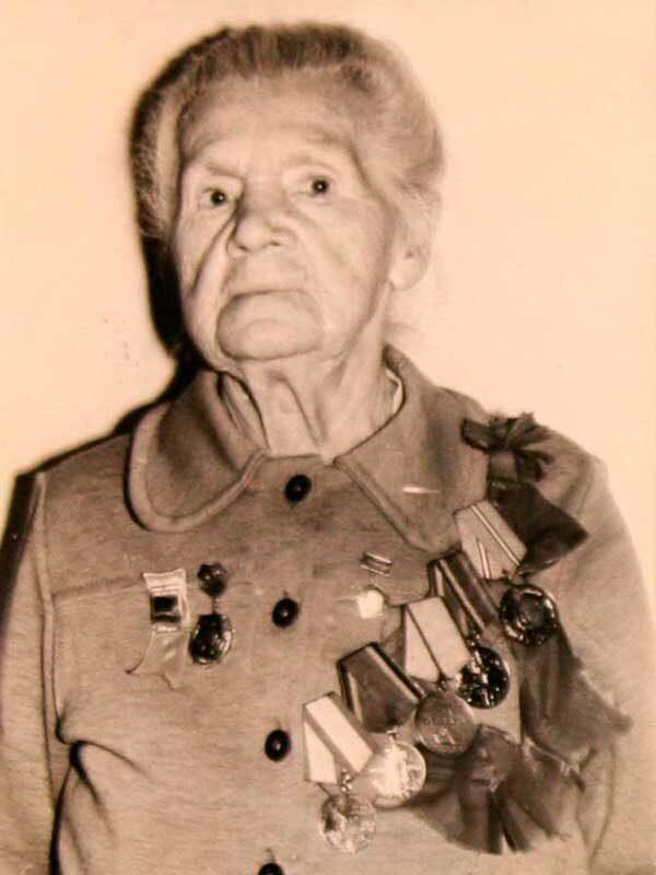 Родан Матильда Иосифовна, 1925-1984, партизан, ВНИИ д.10 кв.46