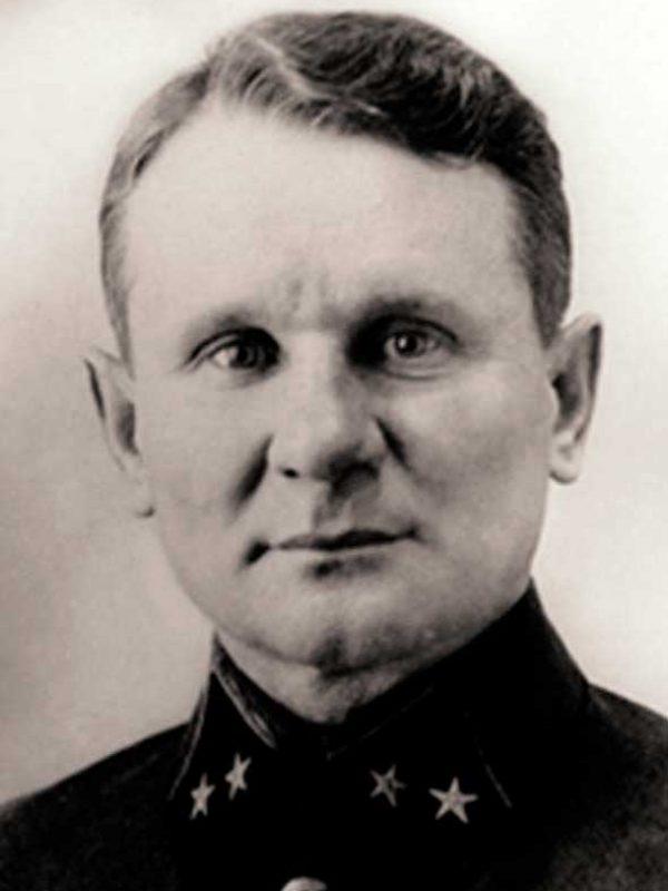 Командир 64 осбр - полковник Чистяков Иван Михайлович