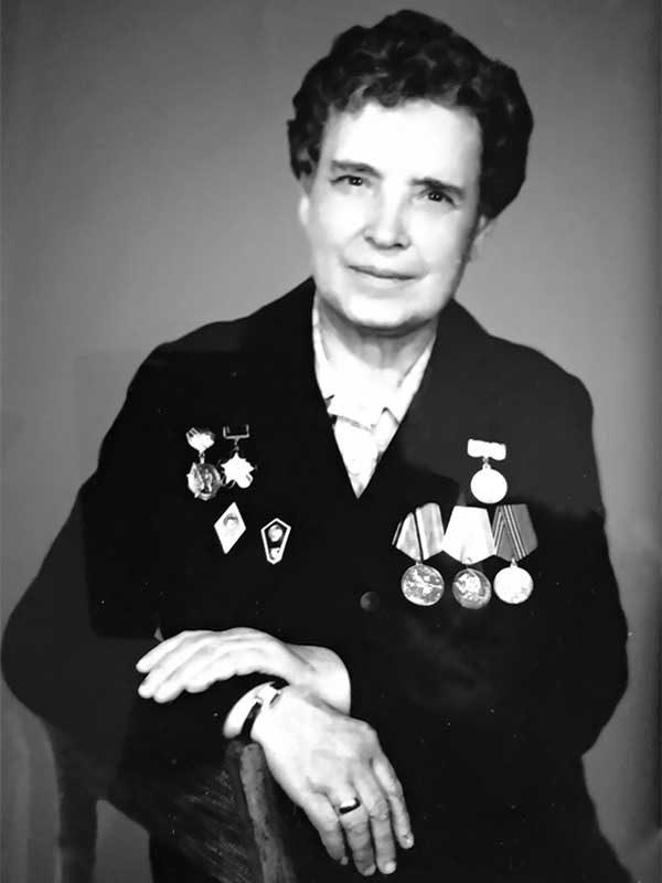 Касьянова Анастасия Ивановна, (1919 - 2005), Парковая, 5