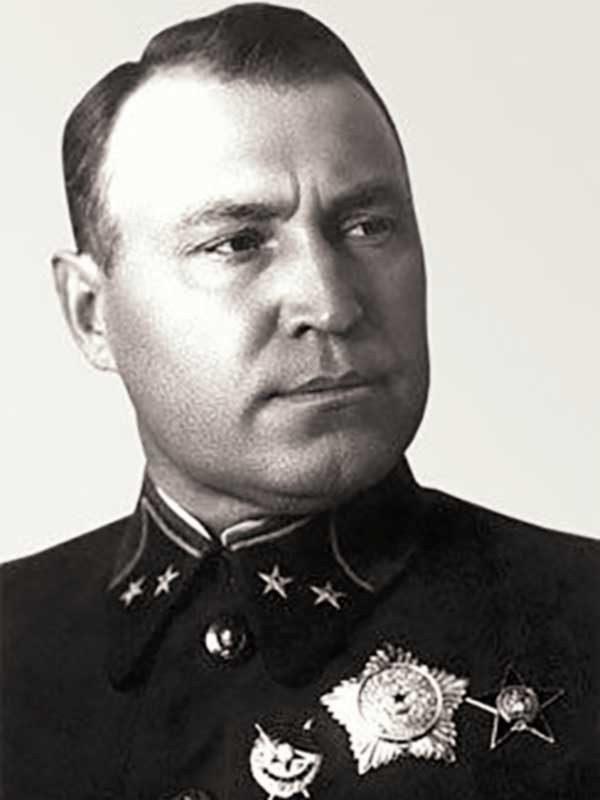 Командущий Армией - генерал-майор В.А. Хоменко (июль — 18.00 ч. 18 ноября 1941 г.)
