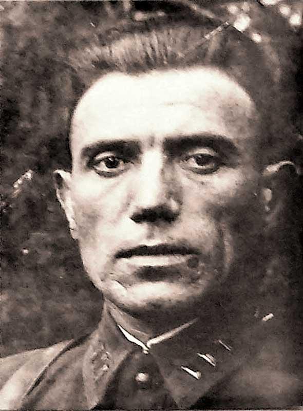 Колесников И.С. – комиссар штаба 35 осбр